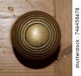 Antique Brass Beehive Door Knob