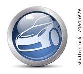 vector car icon | Shutterstock .eps vector #74645929