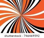 radiating  converging lines ... | Shutterstock .eps vector #746469592