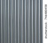 grey aluminium metal texture... | Shutterstock . vector #746480458