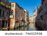 venice  italy   june 18  2016 ...   Shutterstock . vector #746525938