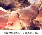 abstract red and white motion... | Shutterstock . vector #746531056