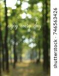 abstract blur city park bokeh... | Shutterstock . vector #746563426