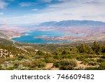 barrage  reservoir  bin el...   Shutterstock . vector #746609482