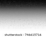 halftone fade gradient... | Shutterstock .eps vector #746615716