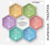 vector abstract 3d paper...   Shutterstock .eps vector #746629336