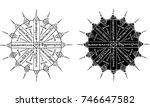 thai traditional tattoo | Shutterstock .eps vector #746647582