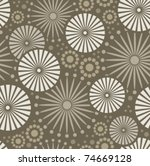 vector floral background... | Shutterstock .eps vector #74669128