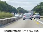 road scenery on a highway in... | Shutterstock . vector #746762455