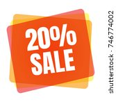 special offer sale tag.... | Shutterstock .eps vector #746774002
