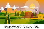 colorful flat design of... | Shutterstock .eps vector #746776552