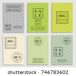 collection of sale banners ... | Shutterstock .eps vector #746783602