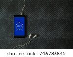 general data protection... | Shutterstock . vector #746786845