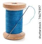 Spool Of Thread With Needle...