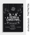 party banner or flyer design... | Shutterstock .eps vector #746796706