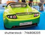 frankfurt  germany  september... | Shutterstock . vector #746808205