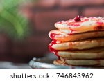 Stack Of Fritters With...