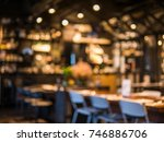 blurred background of... | Shutterstock . vector #746886706