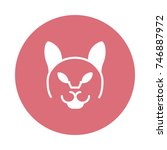 animal icon | Shutterstock .eps vector #746887972