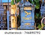 Ancient Mailbox In Santa Tereza ...