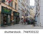 vienna  austria june 02  2017 ... | Shutterstock . vector #746933122