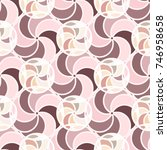 abstract color seamless pattern ... | Shutterstock . vector #746958658