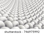 a microscopic close up view of... | Shutterstock . vector #746975992