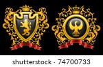 coat of arms. vector...