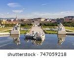 public baroque park of... | Shutterstock . vector #747059218