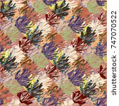 abstract colorful pattern for... | Shutterstock .eps vector #747070522