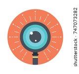 creative vision concept.... | Shutterstock .eps vector #747073282