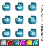 modern set of design elements.... | Shutterstock . vector #747074842
