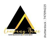 company logo | Shutterstock .eps vector #747094225