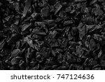 natural black coals for... | Shutterstock . vector #747124636