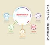 graph  presentation  chart.... | Shutterstock .eps vector #747131746