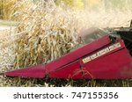 agricultural machinery... | Shutterstock . vector #747155356