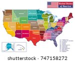 united states of america.... | Shutterstock .eps vector #747158272