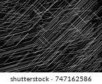 abstract graphic work with... | Shutterstock .eps vector #747162586