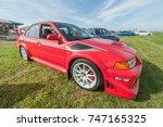 dunsfold  uk   august 26 ... | Shutterstock . vector #747165325