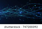 abstract star dust particle... | Shutterstock . vector #747200392
