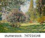 Landscape  The Parc Monceau  B...