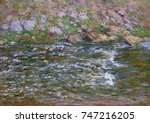 Rapids On The Petite Creuse At...