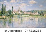 Vetheuil In Summer  By Claude...