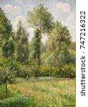 Poplars  Eragny  By Camille...