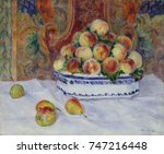 Still Life With Peaches  By...