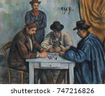 The Card Players  By Paul...