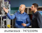 business  maintenance and... | Shutterstock . vector #747223396