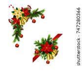 christmas elements for your... | Shutterstock .eps vector #747280366
