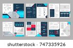 brochure creative design.... | Shutterstock .eps vector #747335926