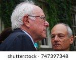 bernie sanders  vermont senator ... | Shutterstock . vector #747397348
